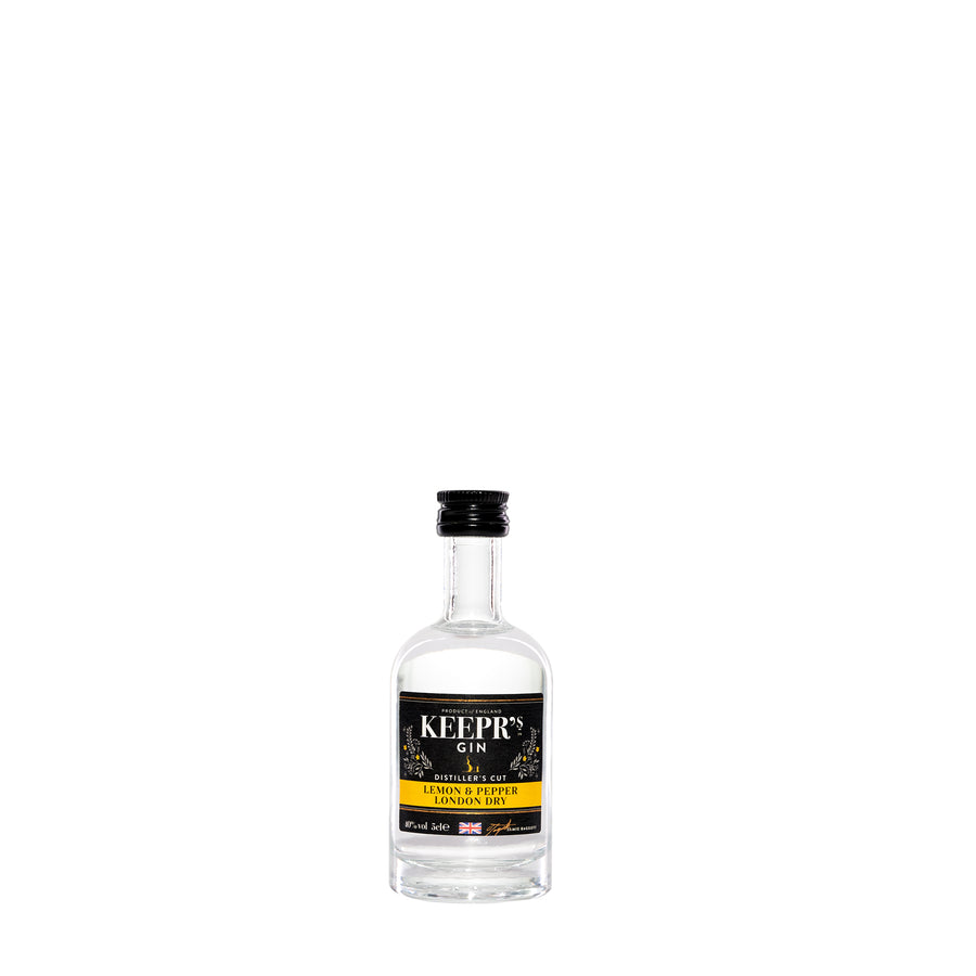 LEMON & PEPPER LONDON DRY GIN – DISTILLER'S CUT 40%VOL