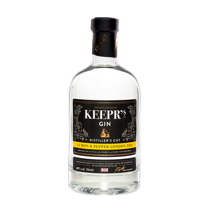 LEMON & PEPPER LONDON DRY GIN – DISTILLER'S CUT 40%VOL - The British Honey Company PLC