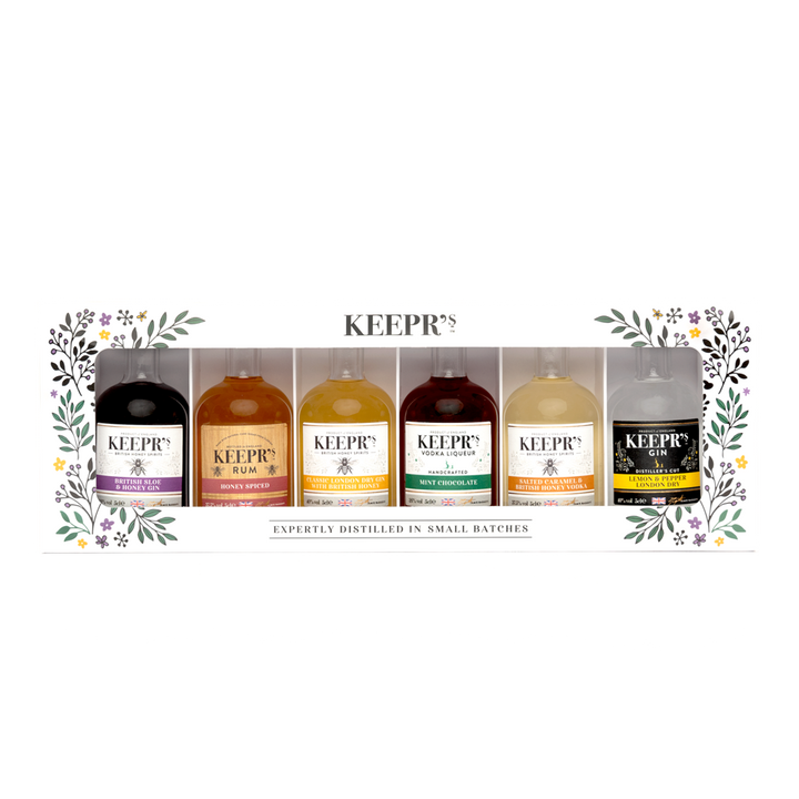 KEEPR'S TASTER GIFT BOX 6 x 5cl - The British Honey Company PLC