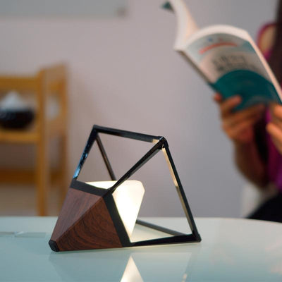 Pyramid Home Decor LED Table Lamp