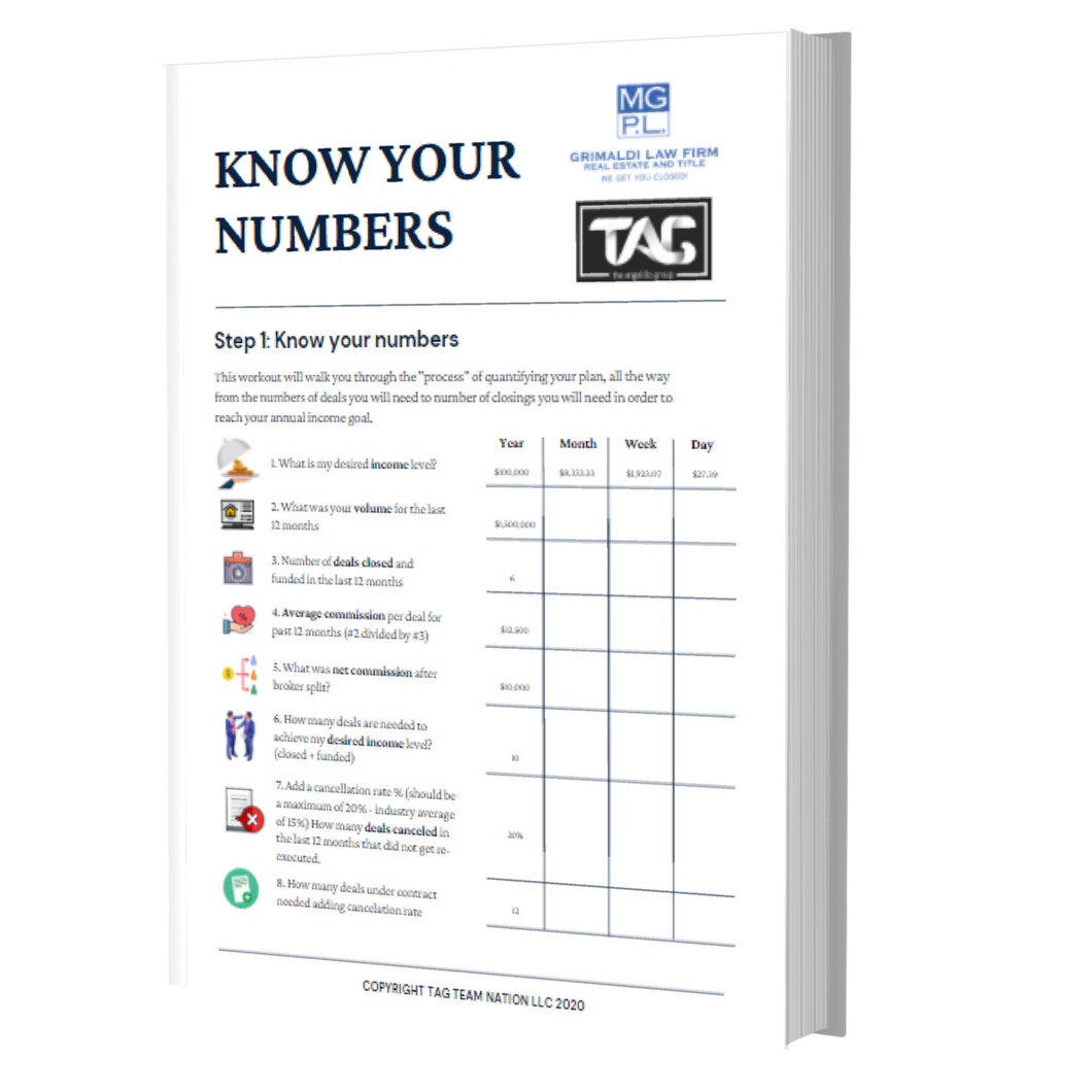 v3-Know your numbers - worksheet