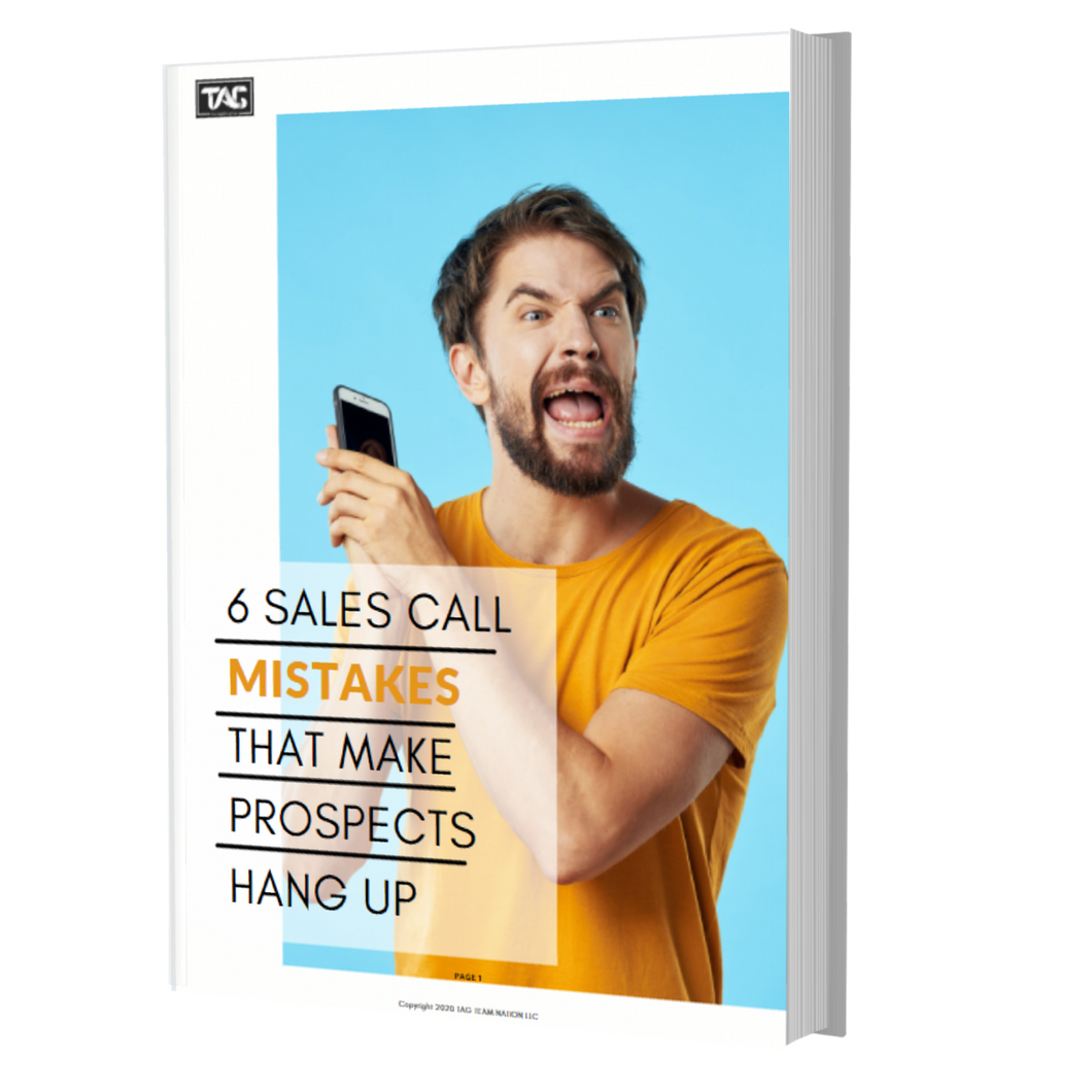Sales Call  Mistakes That Make  Prospects  Hang Up
