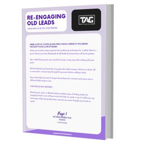 Re-engaging old leads