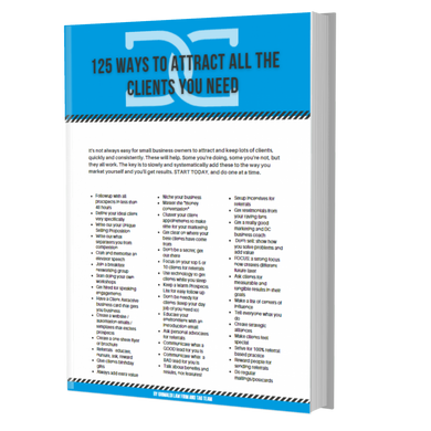 125 ways to attract all the clients you need