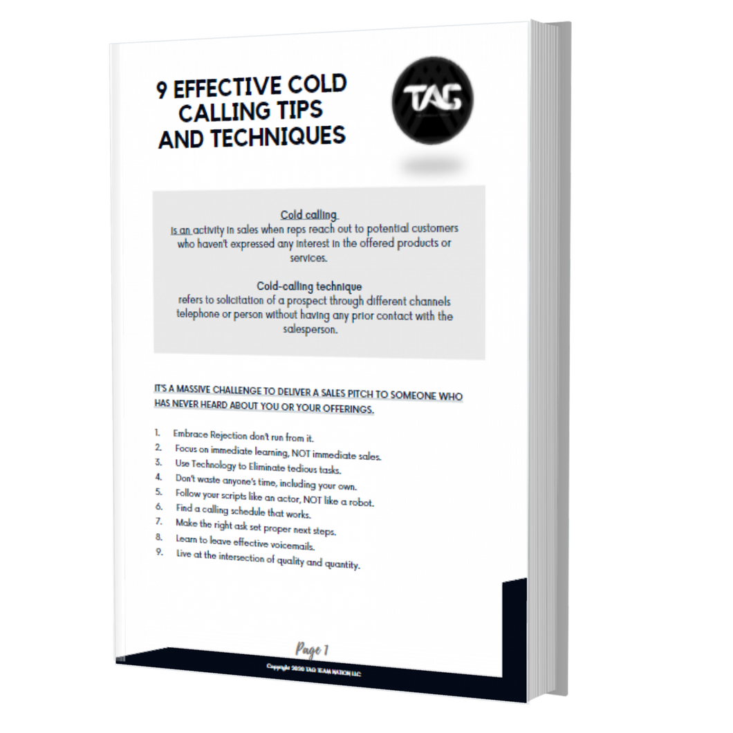 9 Effective Cold Calling Tips and Techniques