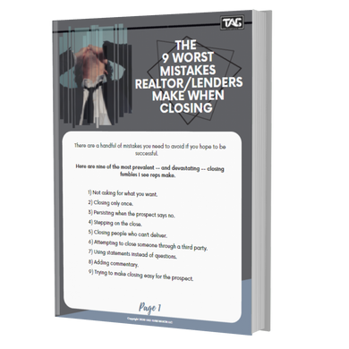 The 9 Worst Mistakes Realtor/Lenders Make When Closing