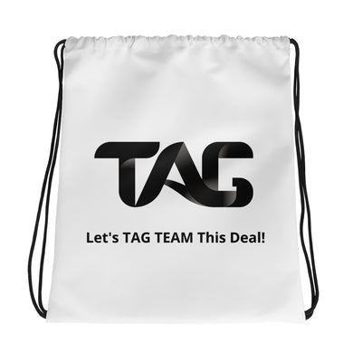 TAG Drawstring bag