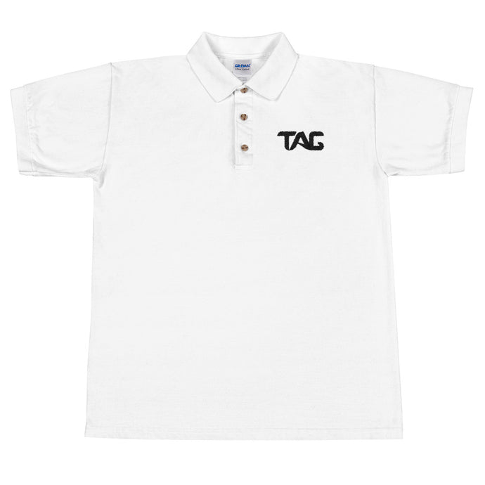TAG Embroidered Polo Shirt