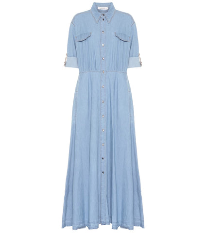 Denim dream maxi dress