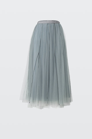 Sensitive transparency layered skirt