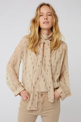 Sensitive spark blouse