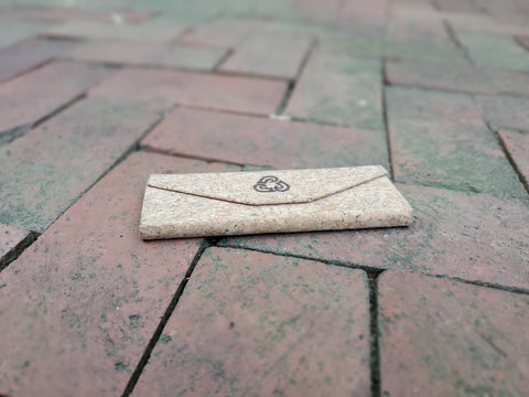 Waterhaul's eco-friendly cork sunglasses case