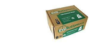 Evolution Trash Bags - Evolution Trash Bags - 70% Recycled Plastic Bags, 120 bags/box