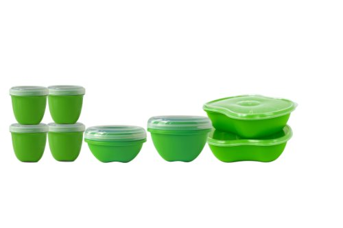 Preserve's Food Storage Starter Kit - Made from 100% Recycled Plastic