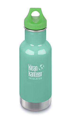 Start Your Zero Waste Journey with Klean Kanteen Insulated Stainless Steel 12 oz Water Bottle