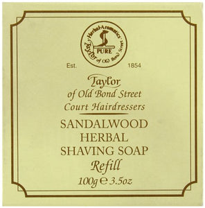 Zero Waste Shaving with Taylor of Old Bond Street Sandalwood Hard Shaving Soap