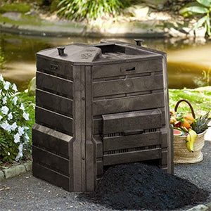 Composting Bin Made from 100% Recycled Plastic - Embrace Composting Now with the Soilsaver Composter, You Can Do This!