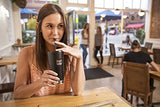 Down with plastic straws!  Long live Klean Kanteen Steel Straws!
