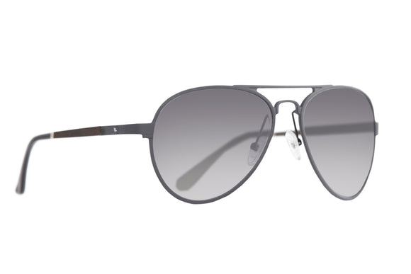 Proof Eagle Gunmetal Recycled Aluminum Eco-Friendly Sunglasses