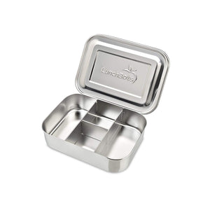Down with Plastic Sandwich Bags, Long Live LunchBots Stainless Steel Food Container, Eco-Friendly, Dishwasher Safe and BPA-Free