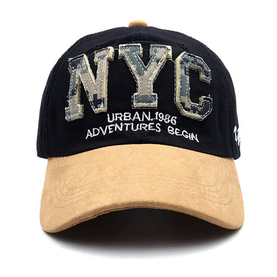 NYC camouflage shade baseball cap classic cotton hat
