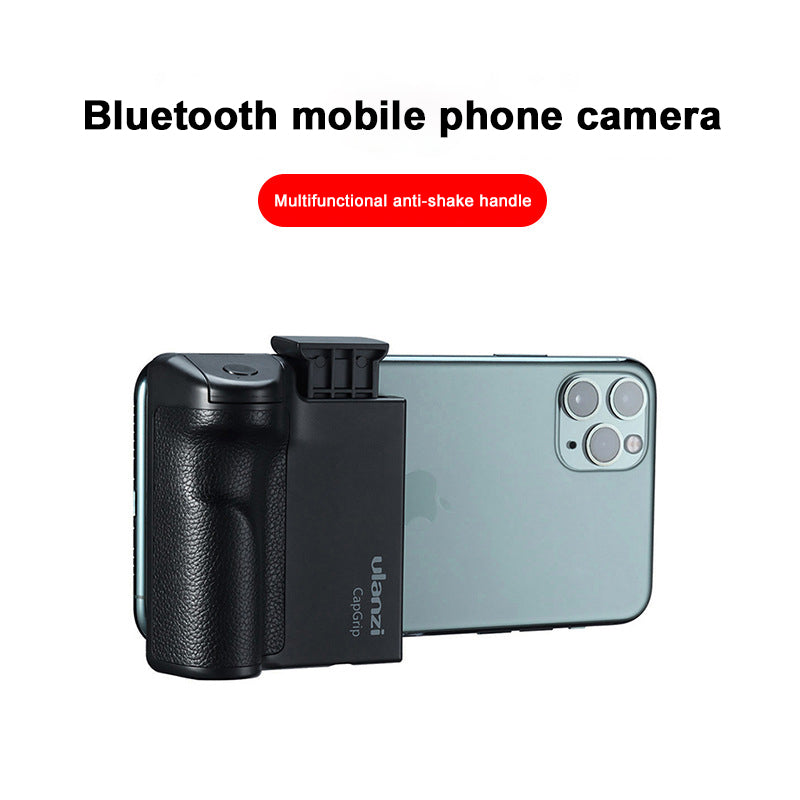 Bluetooth One-Handed Multi-Function Tripod Pan/Tilt Camera Handle