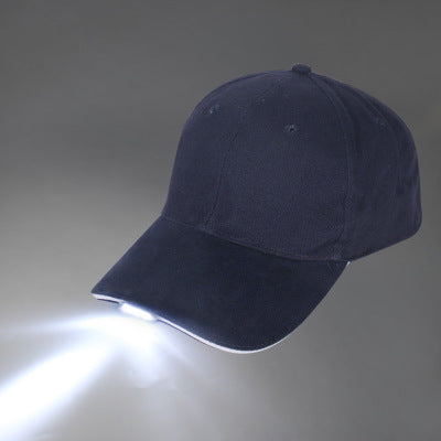 Travel Baseball Cap With LED Light