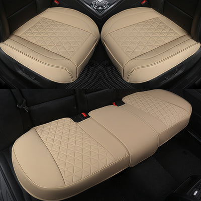 Universal All-Inclusive Luxury PU Leather Car Seat Covers Cushions