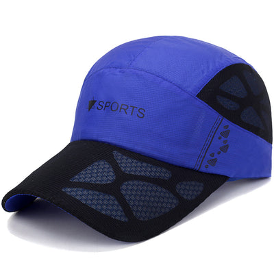 Men Women Summer Quick Dry Mesh Caps
