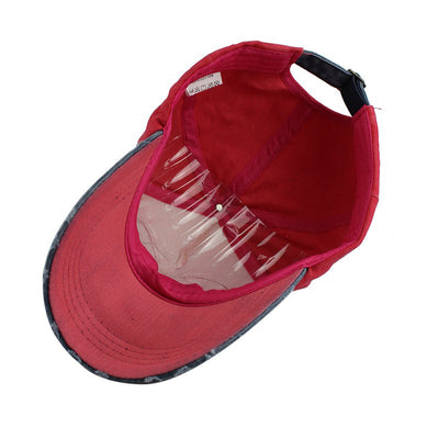 Classic Patch Colorblock Baseball Cap Peaked Cap Hip-Hop Cap