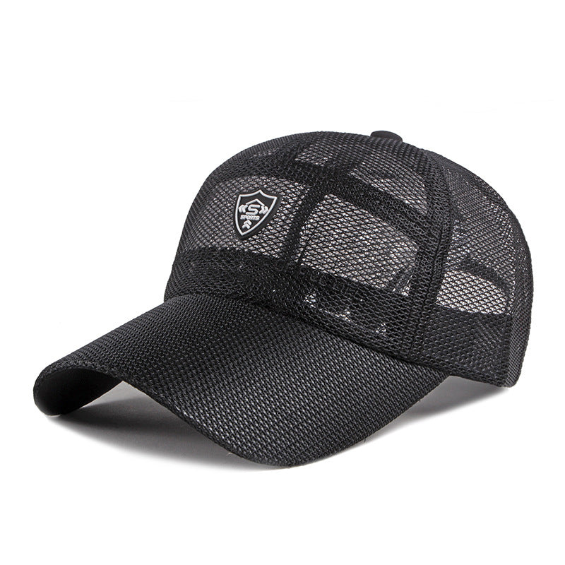 BonnieRoad Hollow mesh cap leisure sunscreen baseball cap