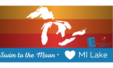 Swim to the Moon <3 MI Lake Towel