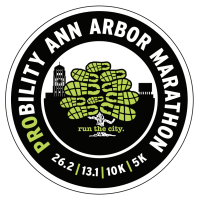 Ann Arbor Marathon Decal