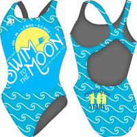 Swim to the Moon Women's Swimsuit