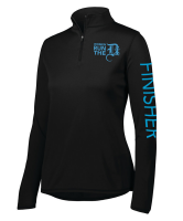 Women Run the D Finisher Quarter Zip
