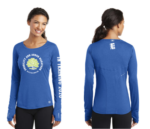 "Probility Ann Arbor Marathon ""2020 in Training"" women's cut shirt"