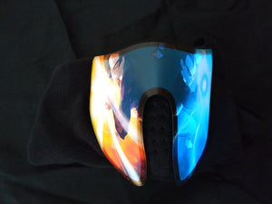 Dragonball inspired LED mask feat. Goku & Vegeta (voice activated)