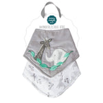 Mary Meyer Afrique Wonderlicious Bib Set - 2pcs