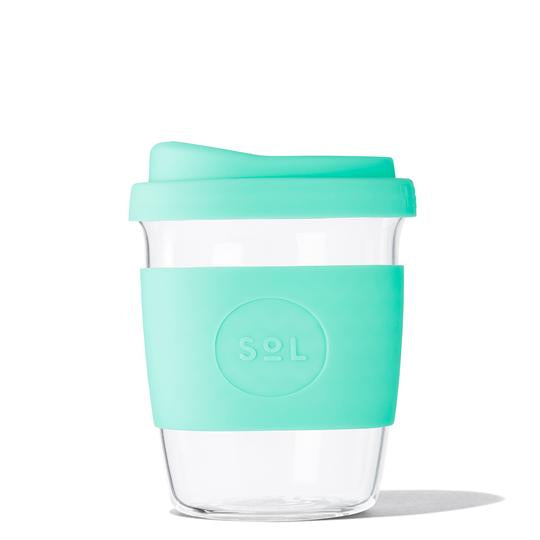 SoL Coffee Cup 8oz - Re-usable & Plastic FREE (various colours)