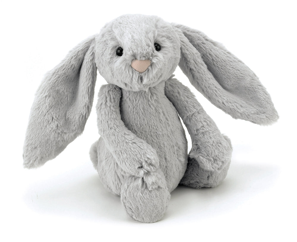 Jellycat Bashful Bunny Silver - Medium