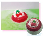 Bomb Cosmetics - Cherry On Top Bath Blaster/Bomb (Cruelty Free & Handmade)