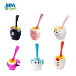 Joie Egg Cup & Spoon - in fun character designs