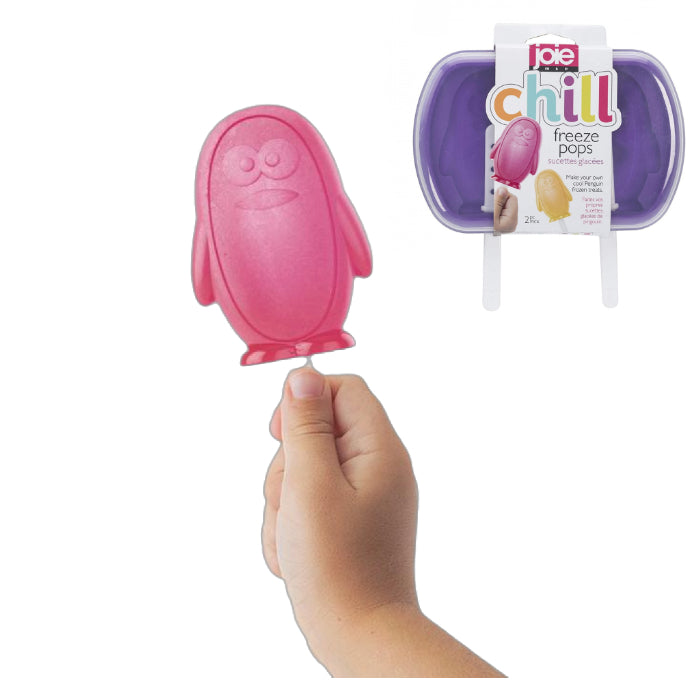 Joie Freeze Pops 2pc Moulds - Chill Penguin