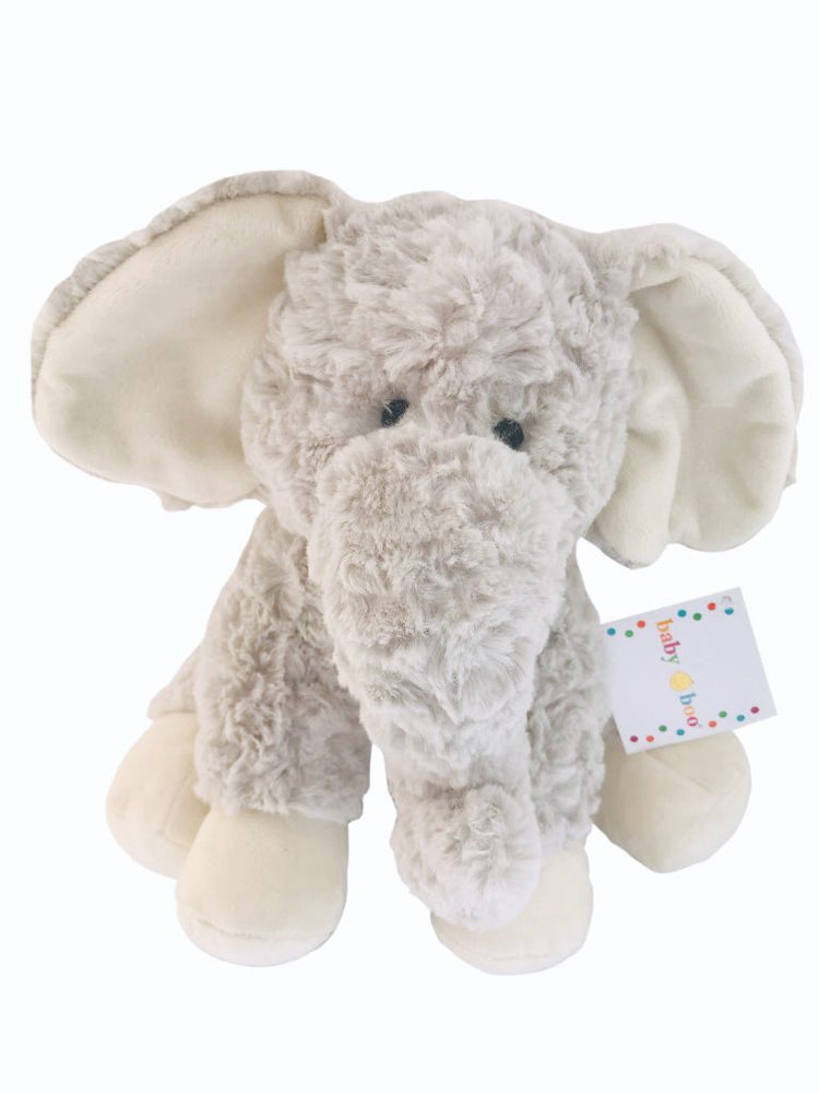 Baby boo Grey Elephant Soft Toy