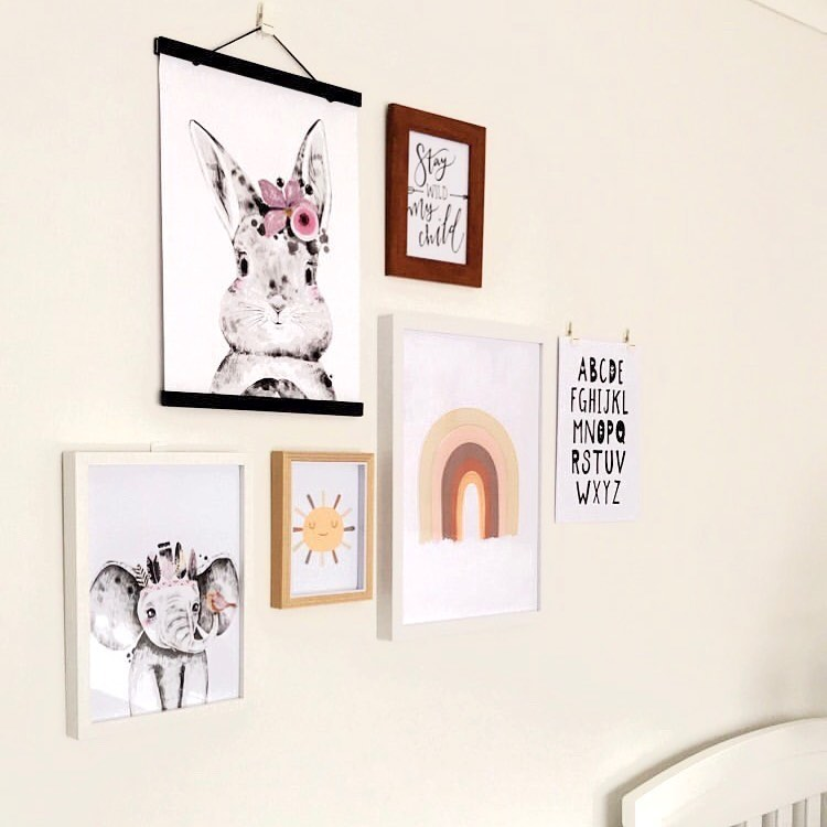 Lola & George Cinnabun - Wall Art Decor A3