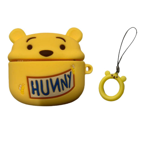 Airpod Pro Case Cover - Hunny the Bear (with tag handle)