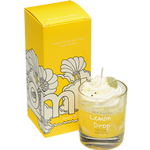 Bomb Cosmetics - Piped Glass Candles 'Lemon Drop' (Cruelty Free & Vegan)