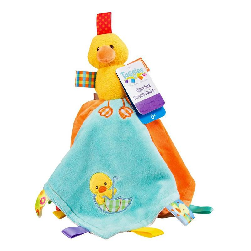 Mary Meyer Taggies Dipsy Duck Character Blanket