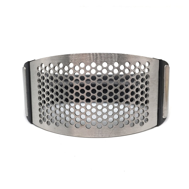 Garlic Crusher & Mincer - Stainless Steel