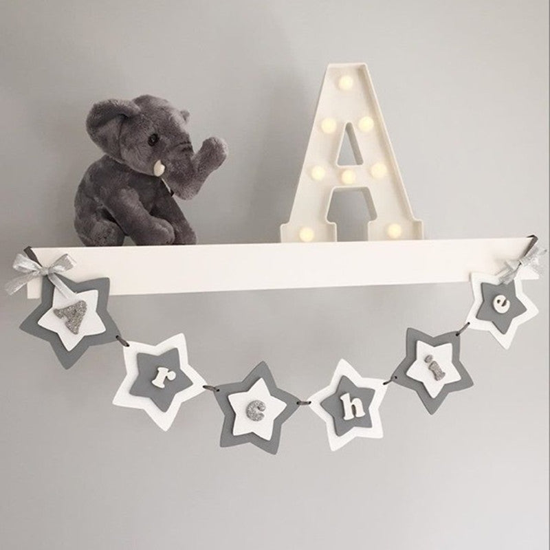 Nursery Letters with LED lights